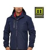 Macseis Macseis, 3 in 1 Jacke, Unisex, blau rot
