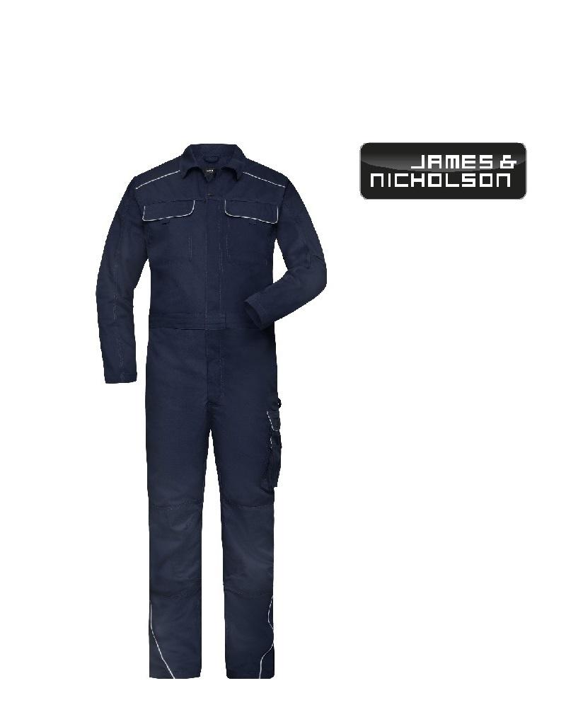 James Nicholson JN887 ny - Work Overall navy