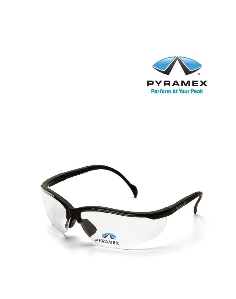 Pyramex ESB1810R20T  Schutzbrille von Pyramex mit Vergrösserungsstufe +2.0 Dioptrien