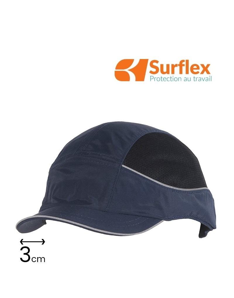 Surflex AIR+ Navy  Anstosskappe, Visier 3 cm,  Navy, EN 812