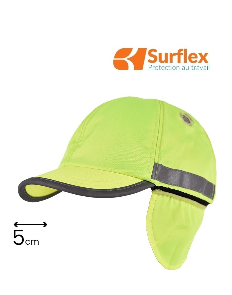 Surflex HIVER Yellow High Visibility-Anstosskappe