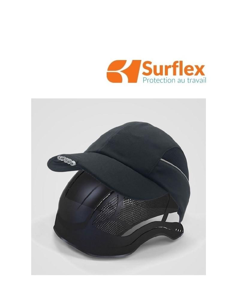 Surflex LED Black - Anstosskappe mit LED Lampe