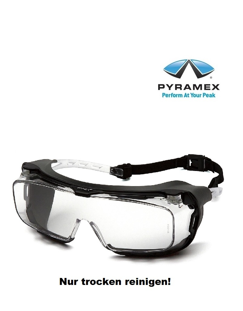 Pyramex ES9910STMRG Schutzbrille mit Rahmengummi