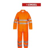Engel FE1916.10.S Regenkombi, EN 20471 Kl. 3, Orange von Engel