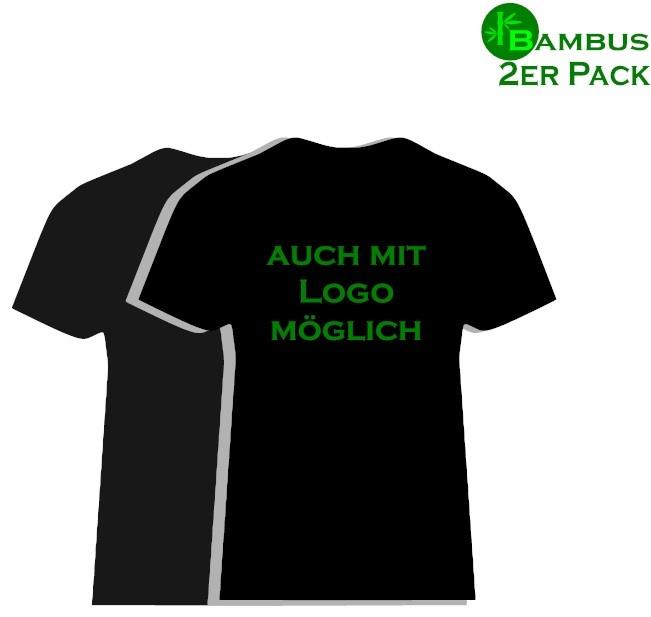 Bambus Kneuss Qualität Bambus T-Shirt 2er Pack in Kneuss Qualität