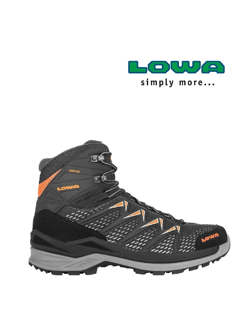 Lowa Innox Pro Mid black - Freizeitschuh
