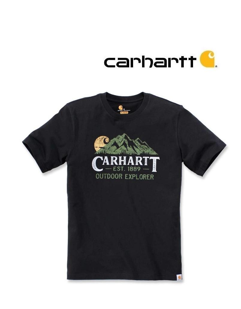 Carhartt Kleider 104183.BLS - T-ShirtSchwarz