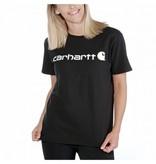 Carhartt Kleider 103592.001 T-shirt, Damen, Kurzarm , Schwarz, Print von Carhartt - Copy