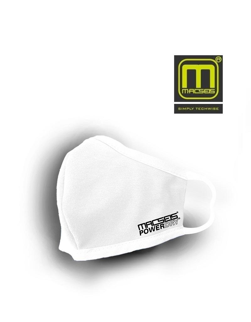 Macseis MCM00011 - schnelltrocknende Behelfsmaske, weiss
