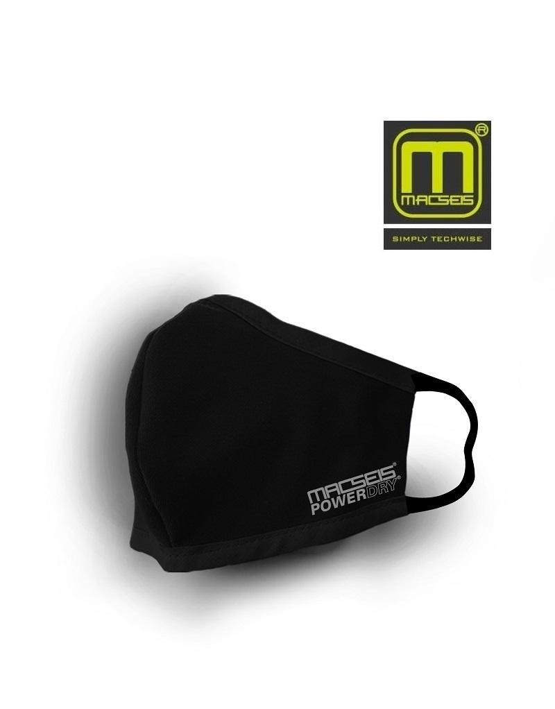 Macseis MCM00010 - schnelltrocknende Behelfsmaske, schwarz