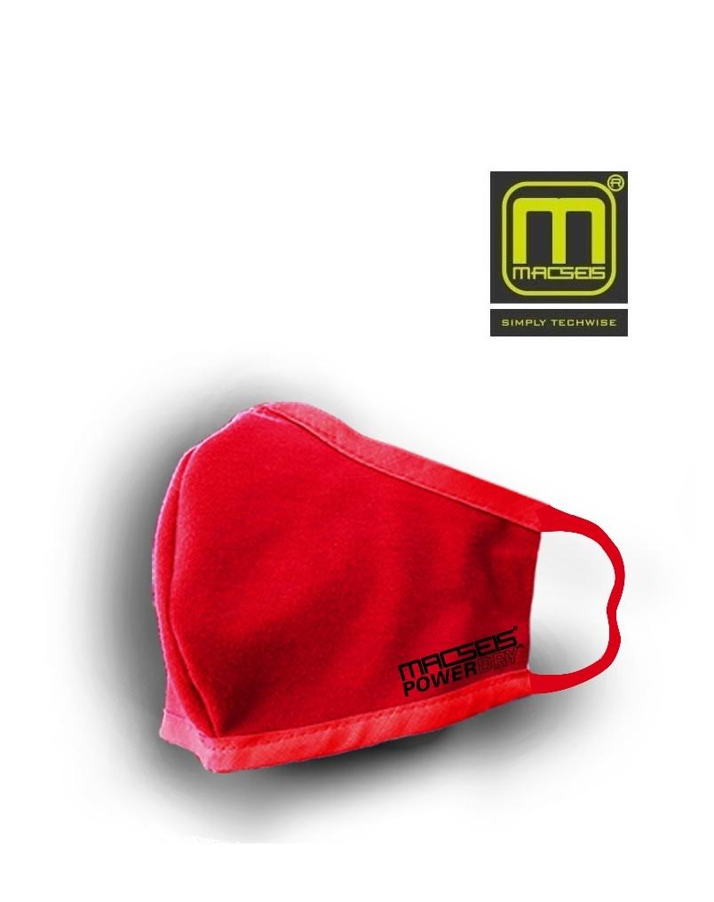 Macseis MCM00013 red - schnelltrocknende Behelfsmaske, rot