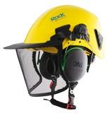 Rock Helmets AC04 - Stahl Mesh Visier NUR in Kombi mit den Ohrenschützen Dynamo 397