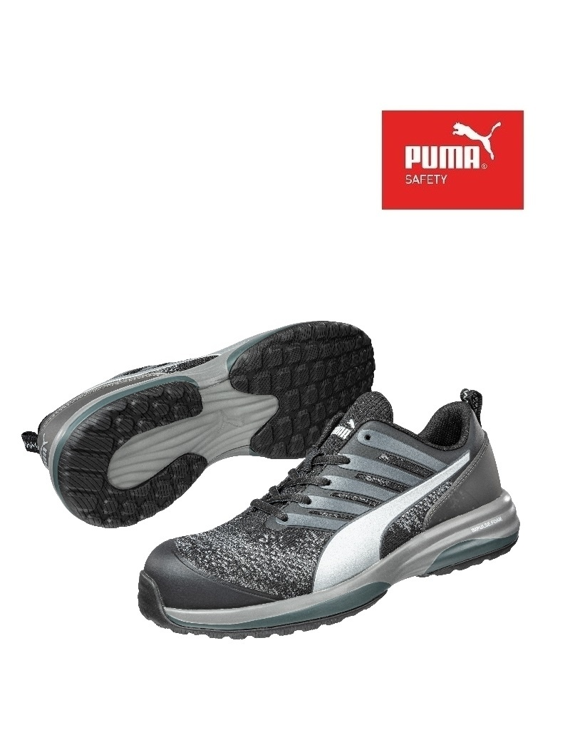 Puma 644540 S1P.S - CHARGE BLACK LOW - Sicherheitsschuh