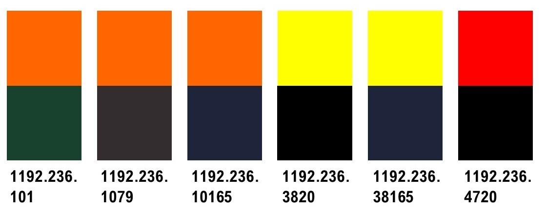 Engel 1192.236  Fleece-Jacke, EN 20471 Kl. 2, Leuchtrot-schwarz