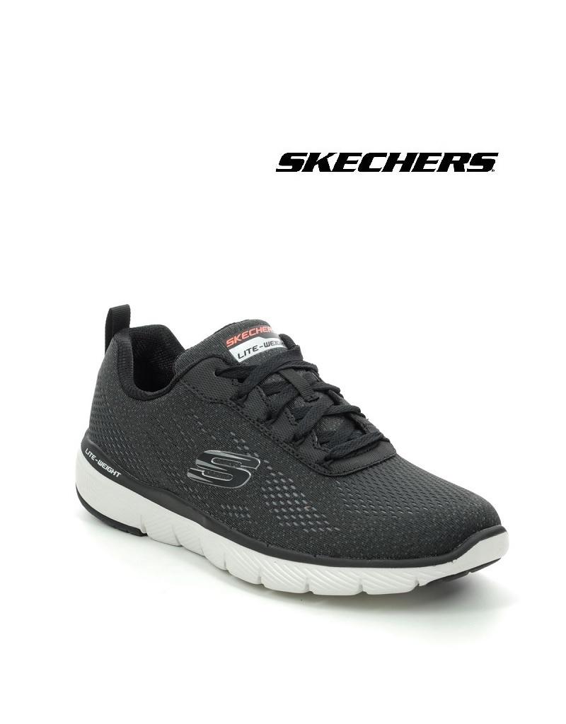 Skechers 232059 BLK - Freizeitschuh - Herren - Flex Advantage 3.0, schwarz