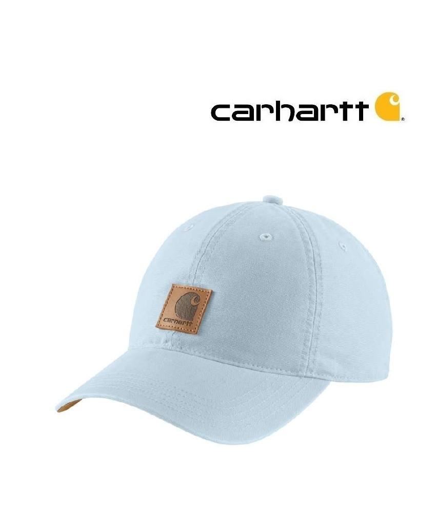 Carhartt Kleider 102427.I20 ODESSA CAP - Damen - Soft blue von Carhartt