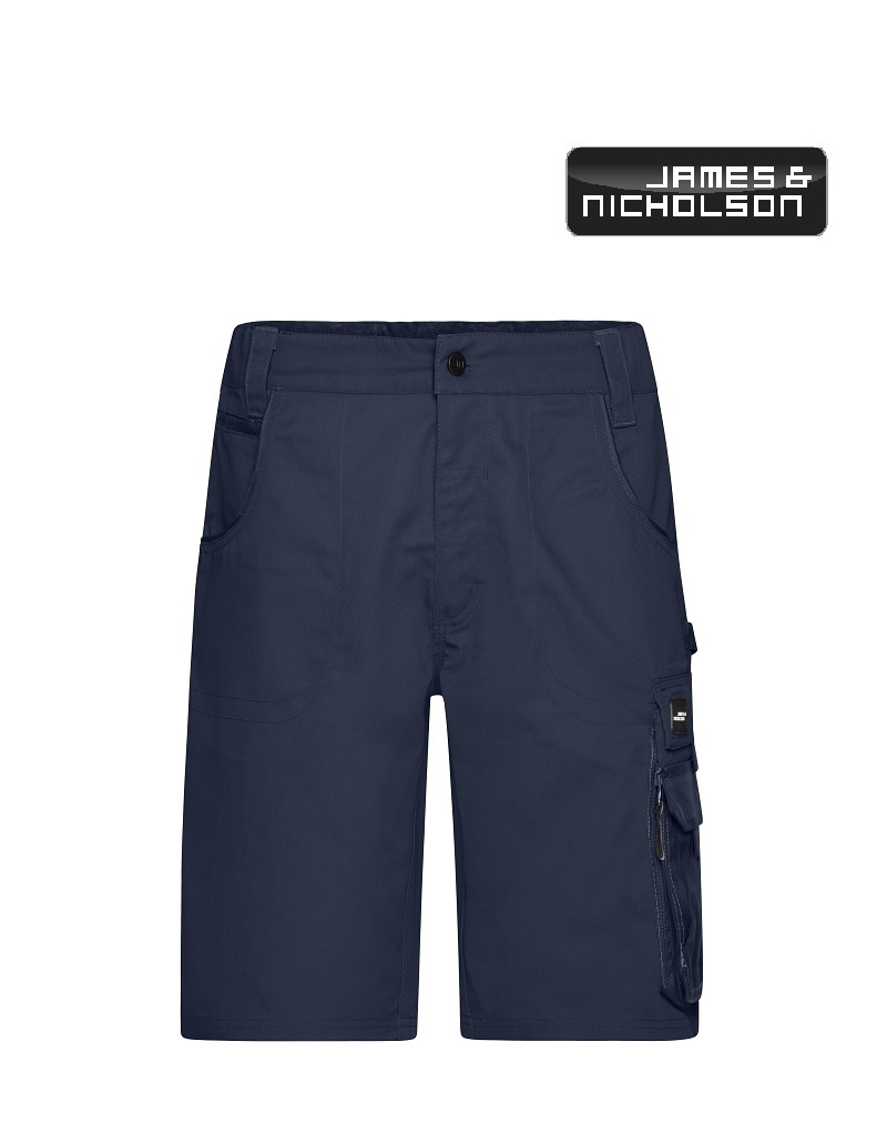 James Nicholson JN835 Navy Workwear Bermudas - strong