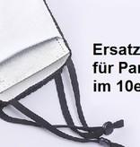 PM 2.5 Ersatzfilter für Partymaske und Tube Mask im 10er Pack