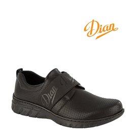 Dian Siena Perforado schwarz - Berufsschuh