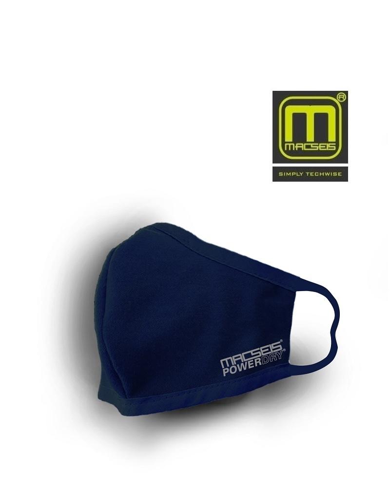 Macseis MCM00018 Navy - schnelltrocknende Behelfsmaske