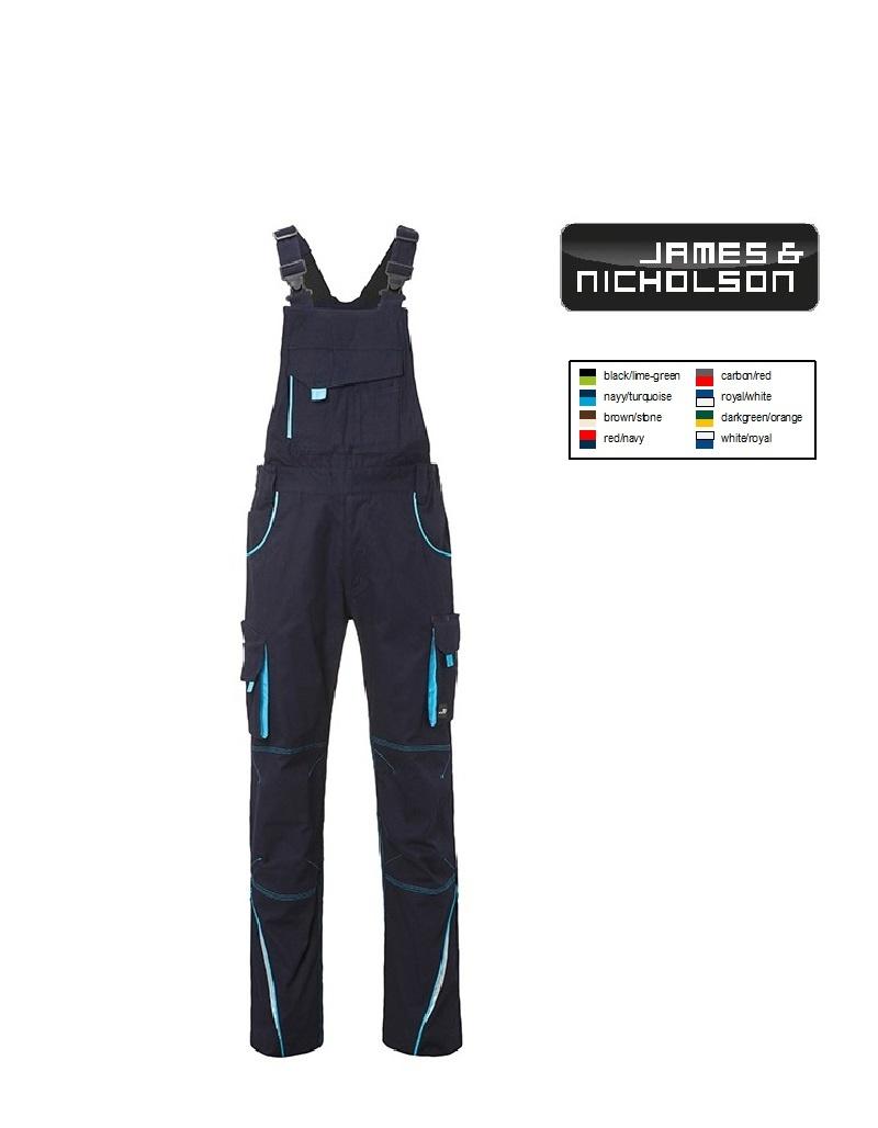 James Nicholson Workwear Pants - Arbeitshose, Latzhose