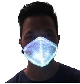 LED Maske weiss