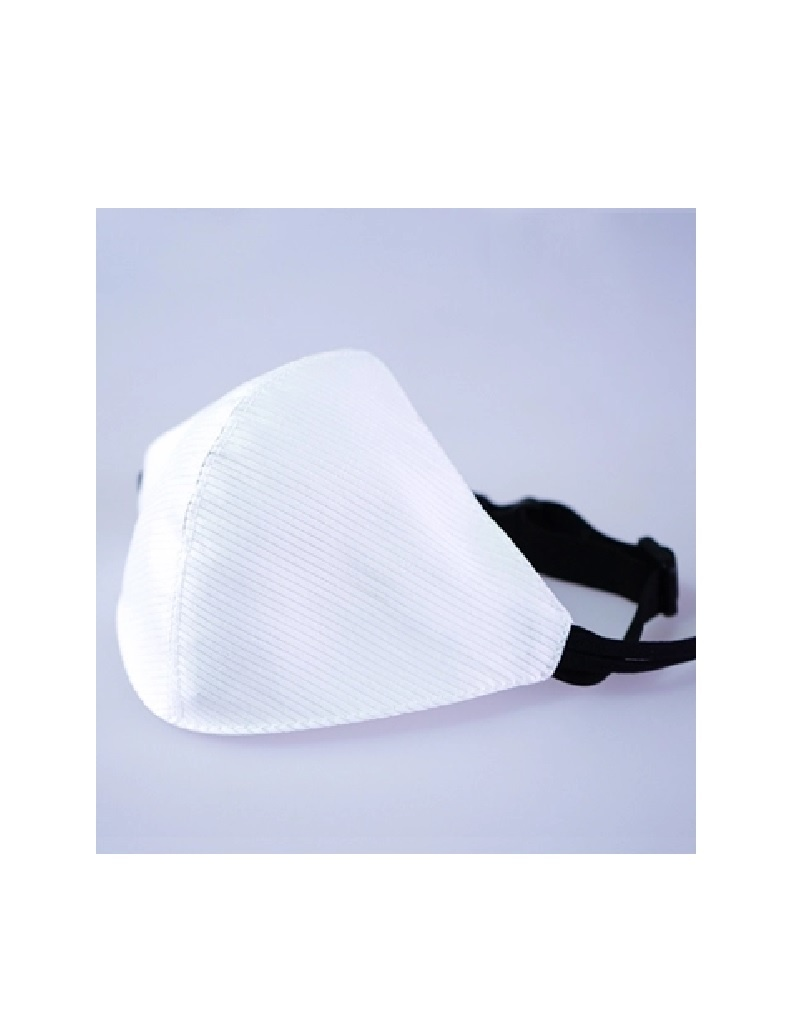 LED Maske weiss wiederaufladbar