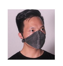 LED Maske schwarz