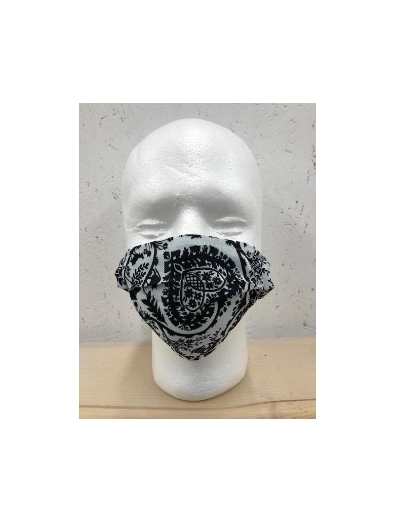 Kneuss Kleider Silhouette.00 -  Maske aus Nicky-Tuch bedruckt