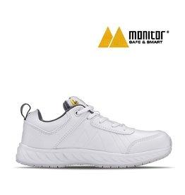 Monitor Schuhe M Express ESD weiss