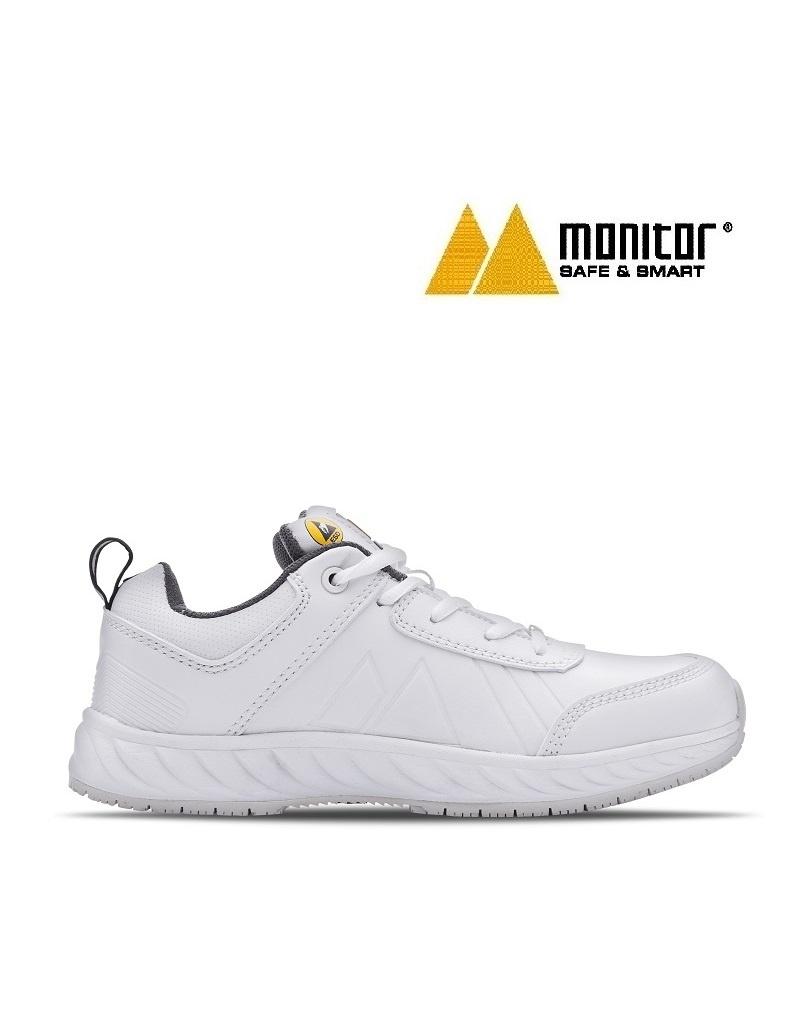Monitor Schuhe M Express ESD weiss - Berufsschuh für Frauen und Männer