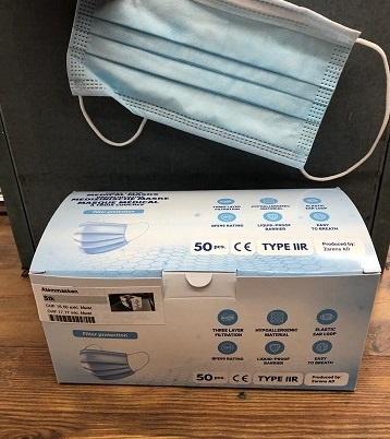 Kneuss Kleider FMN99-Atemmasken in der Box á 50 Stück