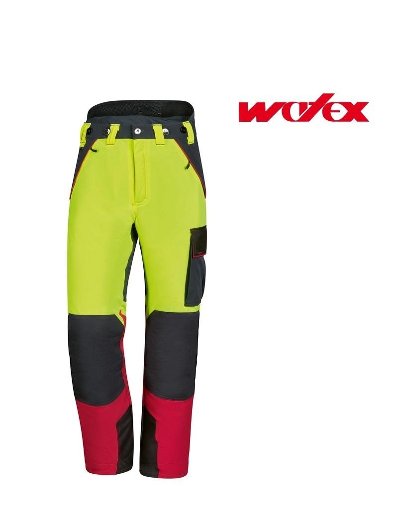Watex 8-3400 Fortschutz-Bundhosen - Forst Jack Red