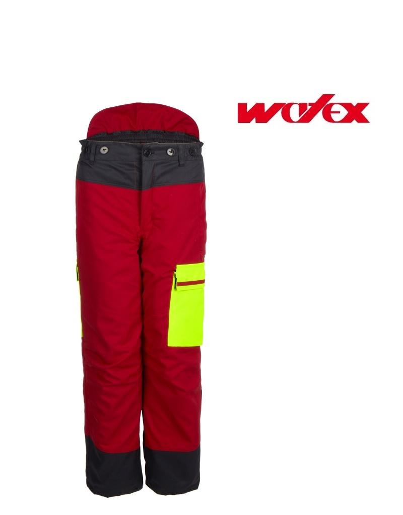 Watex 8-3300 Fortschutz-Bundhosen - Forst Jack Red