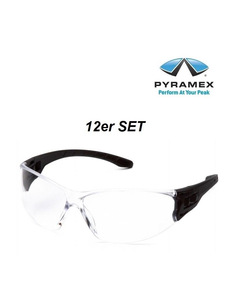 Pyramex ESB9510ST 12er SET Schutzbrillen, Dielektrisch