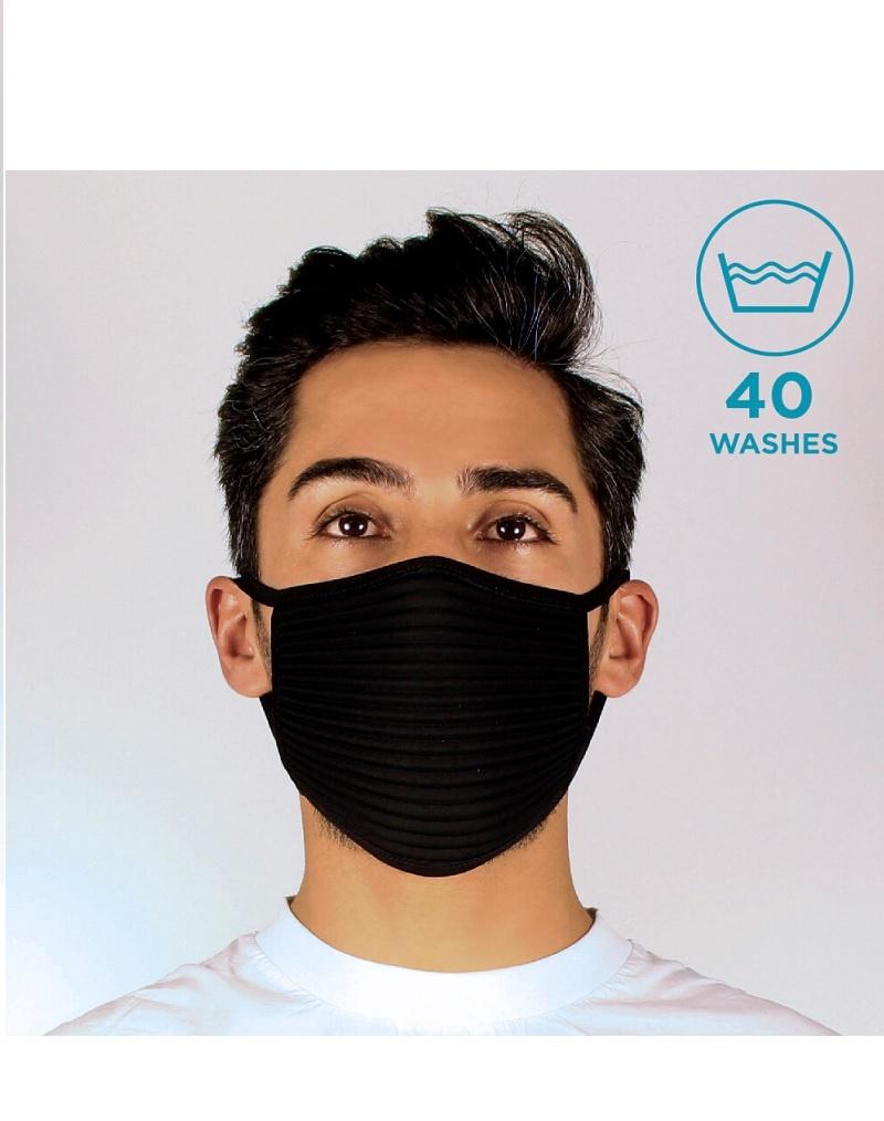 PTX CMT P1.2 black - Maske 4-lagig, Community Mask