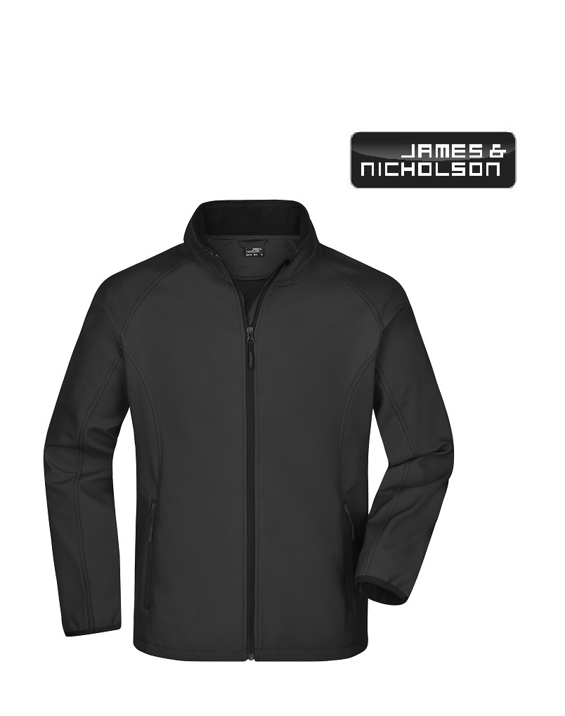 James Nicholson JN1130 Schwarz  Softshell Jacke von James Ncholson