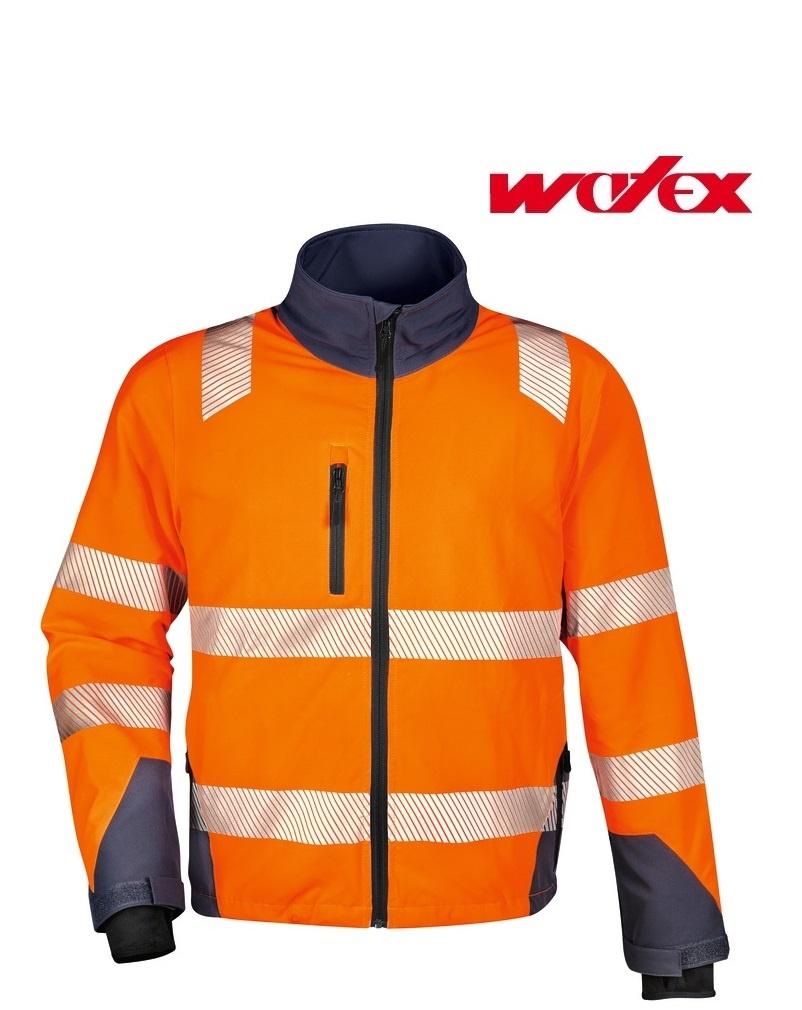 Watex 5-4161 - Warn-Stretch-Jacke, leuchtorange / grau von WATEX