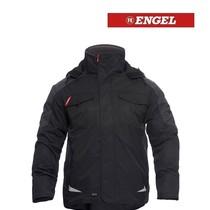 Engel FE1410.2079.S.K - Galaxy Winter-Jacke, Schwarz mit Anthrazit von ENGEL