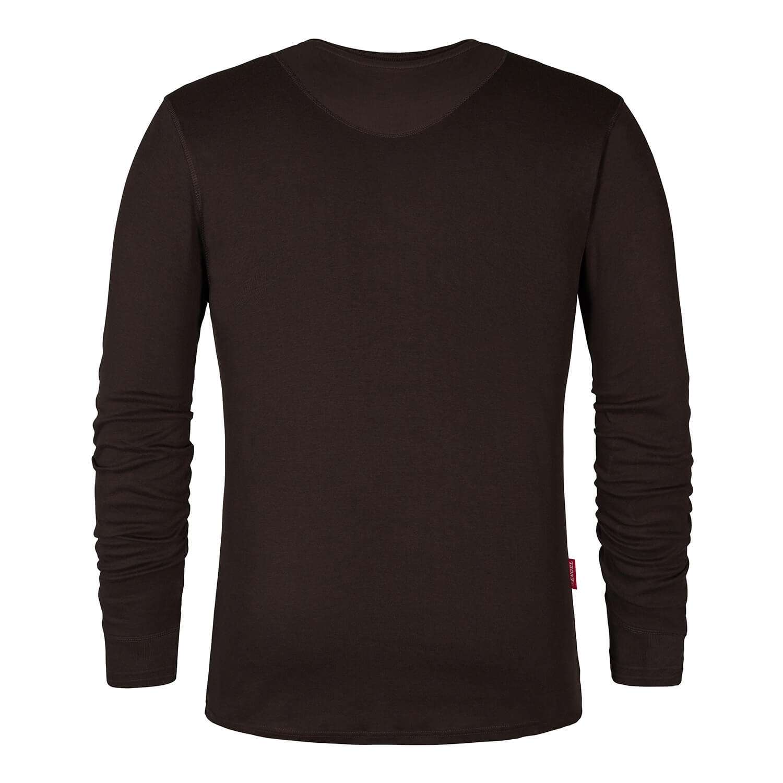 Engel FE9257.167.S.K - Langärmliges T-Shirt mokkabraun von ENGEL