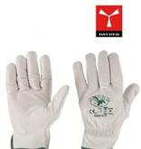 Payper 50/55Top - Handschuhe Leder weiss von Payper