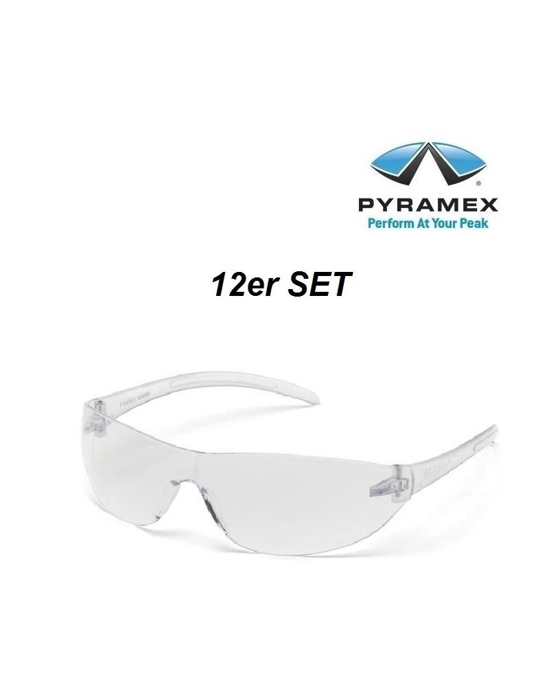 Pyramex ES3210ST 12er - Schutzbrille aus 100% aus Polykarbonat von Pyramex