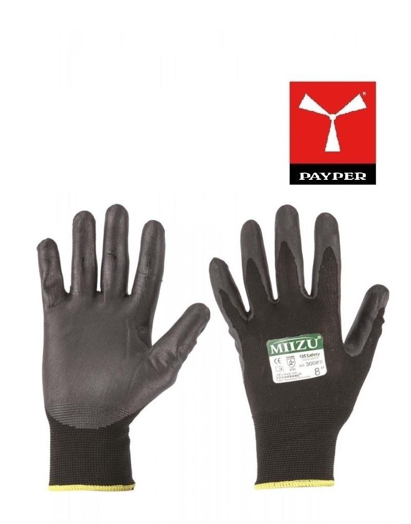 Payper Miizu300 schwarz Handschuhe - Handschuhe mit PU-Beschichtung auf Wasserbasis