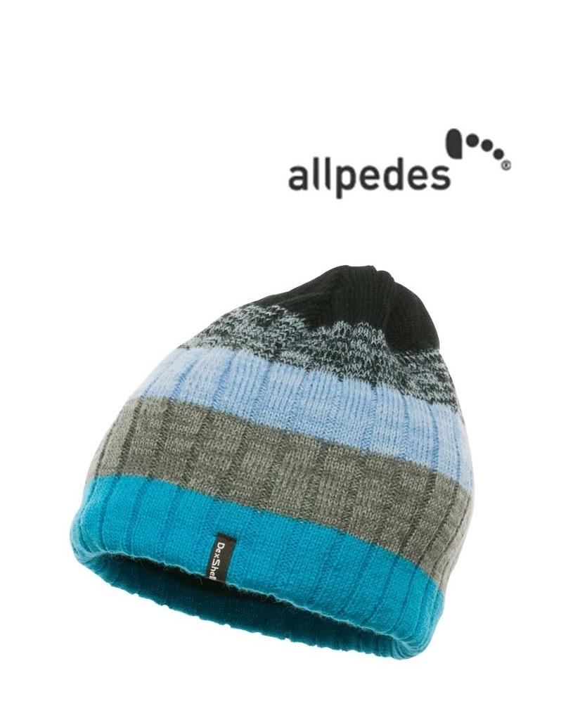 Allpedes DH372-BL Blue Allpedes, Dexshell hat Beanie, Wasserfest,