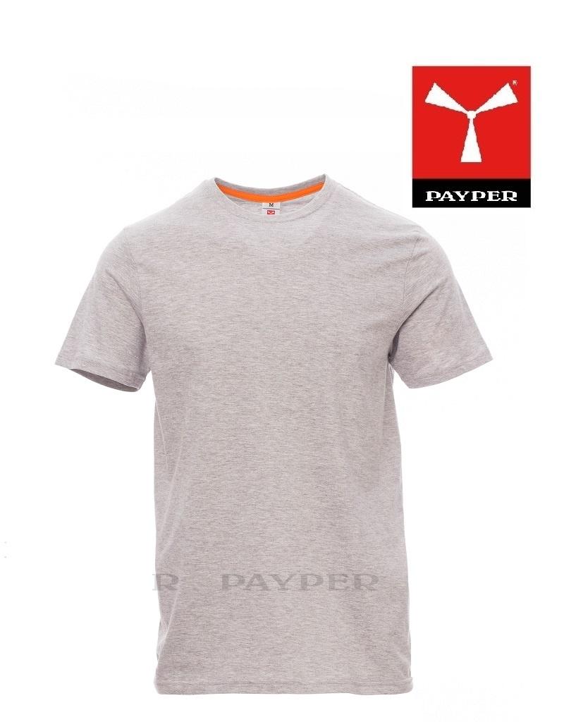 Payper K. Sunset  Melange - Herren-T-Shirt, individuell bedruckbar