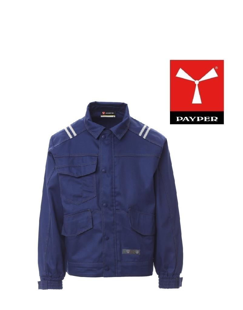 Payper Protector 2.0 Schweisser Jacke, blau