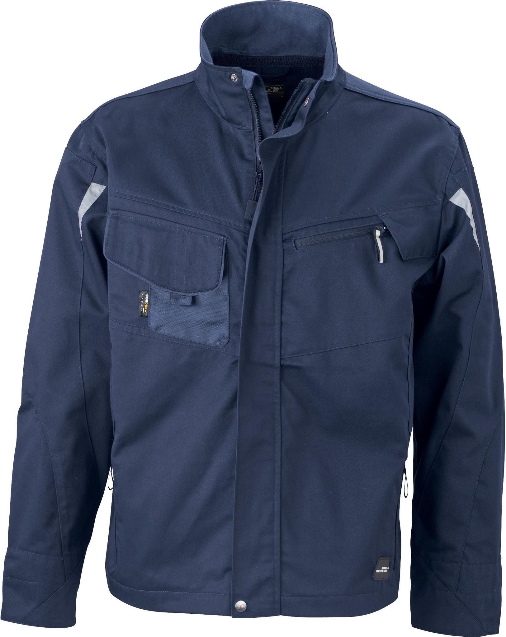 James Nicholson JN821 Navy Starke Softshell Jacke