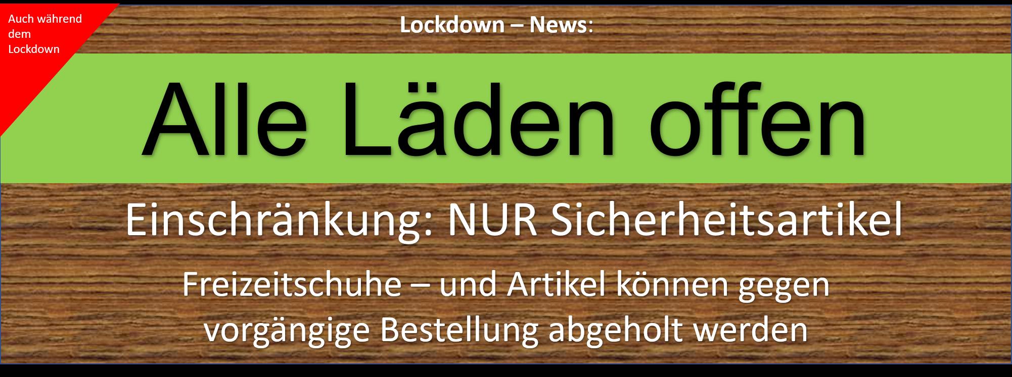 Lockdown läden