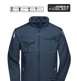 James Nicholson JN844 Navy Workwear Softshell Jacket - STRONG