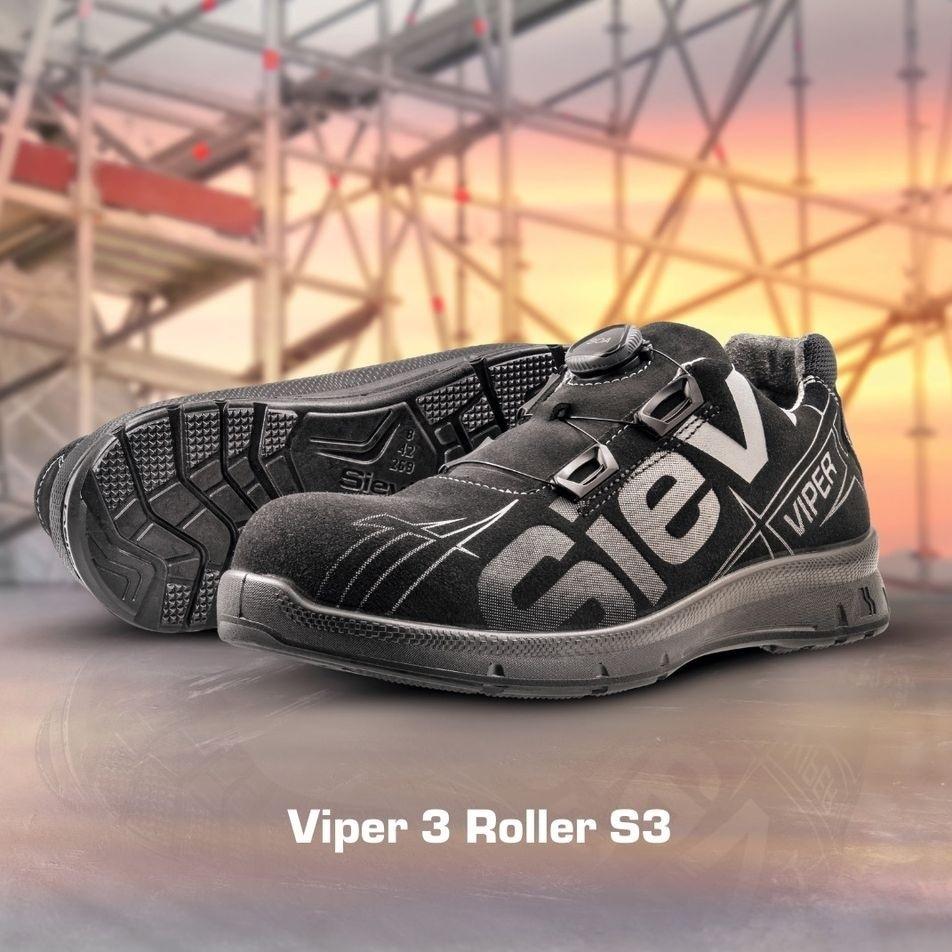 Sievi Safety 52191 S3  - Viper 3 Roller - Sicherheitsschuh